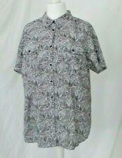 Smart fitted shirt blouse size 20 black white pattern pockets BNWOT