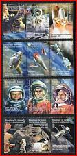 GAGARIN/TERESHKOVA = USA & RUSSIA in SPACE // APOLLO-SOYUZ  MNH ** fr.GUINEA