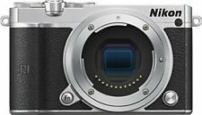 Nikon 1 J5 Mirrorless Digital Camera (Silver Body Only) (Intl Model) No Warranty