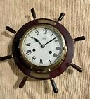 Large Schatz Ships Bell clock, for parts/ repair… has good platform