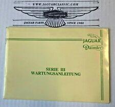 Wartungsanleitung Jaguar XJ Serie 3, deutsch, AKM9023