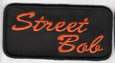 HARLEY DAVIDSON STREET BOB PATCH MADE IN USA!