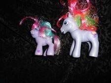 My Little Pony Rainbow Swirl & Lavender Locket Lot Hasbro MLP  FREE SHIPPING