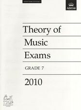 Theory of Music Exams 2010, Grade 7, Paperback; ABRSM, Theory Past Papers
