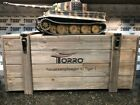 Torro 1/16 Scale Tiger I Late Version RC Tank 2.4 GHz Airsoft Metal Edition PRO