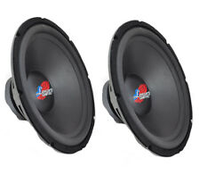 """Pair of Lanzar DCTOA154 15"""" High Power IB Open Free-Air 4 Ohm Subwoofer"""