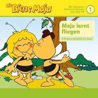 DIE BIENE MAJA - 01: 4 HÖRSPIELE: MAJA WIRD GEBOREN/MAJA LERNT FLIEGEN/+ CD NEU