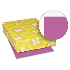 Neenah Paper Astrobrights Colored Card Stock 65 lb. 8-1/2 x 11 Planetary Purple