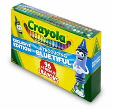 Crayola Crayons 100 Colors Exclusive Edition Sharpener Included Non-Toxic