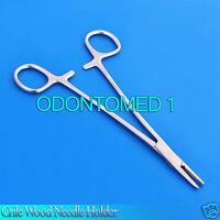 CRILE-WOOD Sharp Needle Holder Forceps 16cm Surgical Dental Instruments
