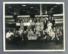 1947 Knitting Mill Ring Spinning 3rd Shift Photo Chattanooga TN Factory Workers