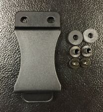 "2pc - IWB FOMI Holster Clips, w/ Hardware, 1.75"" tactical Belt .080 Kydex"