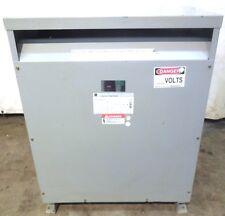 GENERAL ELECTRIC TRANSFORMER 9T23Q9564G03A, 480 V , KVA:75