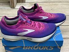 Womens Brooks Running Levitate 2 Size 9.5 Purple and Magenta