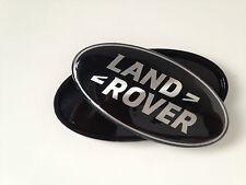 LAND ROVER BLACK BOOT OR GRILLE BADGE EVOQUE VOGUE RANGE ROVER SPORT DEFENDER