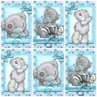Tatty Teddy Bear Glossy Finish Card Toppers - Crafts Embellishment