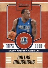 2010-11 Classics Dress Code Silver Basketball Card #13 Shawn Marion /250