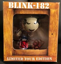 **SIGNED** Blink 182 Limited Tour Edition Bunny Series 1 2009 Vinyl Toy RARE