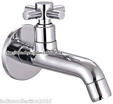 "6"" Bathroom Sink Faucet Single Handle Deck Mount Basin Mixer Tap Polished C"