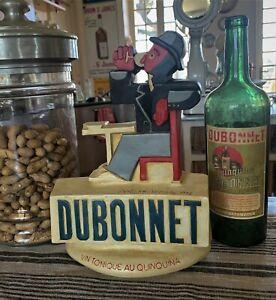 Plâtre publicitaire DUBONNET  22x31X7cm