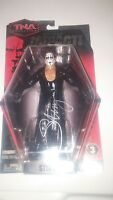 Sting Signed Official TNA Impact Figure WWE WCW WWF Wrestling Autographed