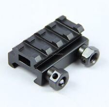 "1/2"" 4-Slot Low Riser 20mm WEAVER PICATINNY Scope Mount Rail"