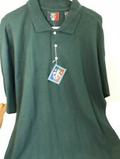 NEW Sunice Mens Size L Green Golf Polo Short Sleeve Casual Shirt Large FREE SHIP