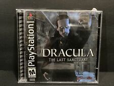 Drácula: el último santuario-PlayStation 1/PS1-Probado -! envío Gratis!