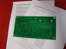 Two Langevin AM16 Mic Preamplifier DIY Printed Circuit Boards