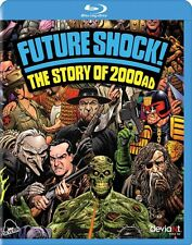 Future Shock! The Story of 2000AD Blu-Ray Paul Goodwin Judge Dredd Deadline