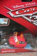 "DISNEY PIXAR CARS 3 ""MADDY McGEAR - RUST-EZE FAN"" BONUS COLLECTOR CARD"