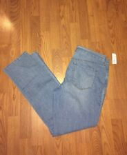 Old Navy Original Mid Rise Straight Stretch Jeans Distressed Women's 12 NWT