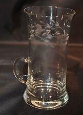 Princess House Heritage Handled Iced Tea Glass