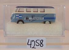 Brekina 1/87 VOLKSWAGEN BULLI VW t1a bus VEW elettricità OVP #4258