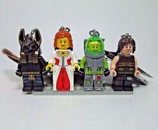 LEGO 853167 Key Chain Figure Lot NEW w/ Tags Anubis Lance Spears Dastan Princess