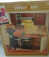 Vintage Pedigree Sindy Boxed Complete 1983 Mint Working Kitchen Cooker Unit MIB
