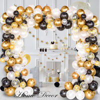 120Pcs Balloon Garland Kit Arch For Wedding Birthday Party Girl Background Decor