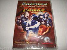 AMERICAN PUNKS DVD- RAW-UNCENSORED- Mike Passion, Vulger, Intensity-NEW SEALED