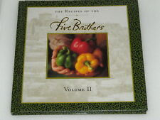 Five Brothers Cook Book Volume Two Ships Free in the United States