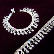 Chumchum Silver Plated Children Kids Baby Bangle Bracelet Anklet toned bells 7.5