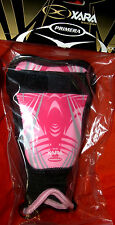 Shin Guards Pink soccer Xara 9029 quality protective pads Brand New youth xxxs