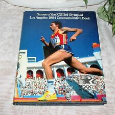 GAMES OF THE XXIIIrd OLYMPIAD LOS ANGELES OLYMPICS 1984 COMMEMORATIVE BOOK HB
