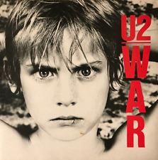 U2 - War (LP) (VG/VG)