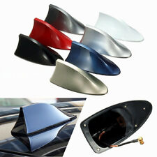 Red Auto Car Shark Fin Universal Roof Antenna Radio FM/AM Decorate Aerial