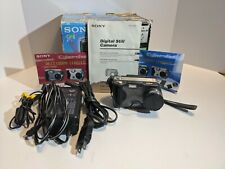 Sony Cyber-shot DSC-S30 Digital Camera with accessories w/ box Charger,  AV Cord