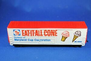 HO Life-Like #4844 Eat-It-All Cone Billboard Refrig Car - Excellent+++ Condition