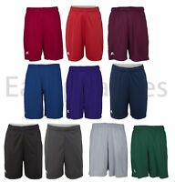 """Russell Athletic - YOUTH Poly Dri-Power, 7"""" Pocket Gym Shorts, Basketball Soccer"""
