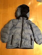Land's End Blue/Navy Reversible Down Jacket Kid's  size 5-6