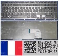 Teclado Azerty Fr SONY VAIO SVE15 SVE-15 AEHK5F021203A 149091711 V133846DK3