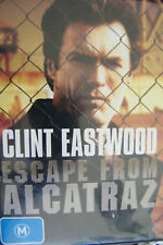 DVD Escape From Alcatraz Clint Eastwood Region 4